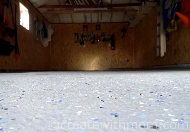 garage interior rust-oleum