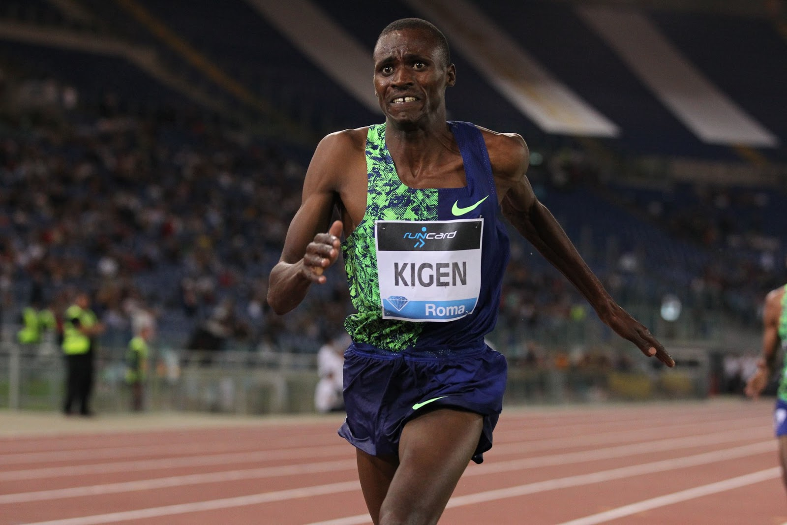 Kenyan Athlete: Benjamin Kigen only winner from Kenya at the Rome Diamond  League Meeting as Dibaba, Brazier and Bekele triumph