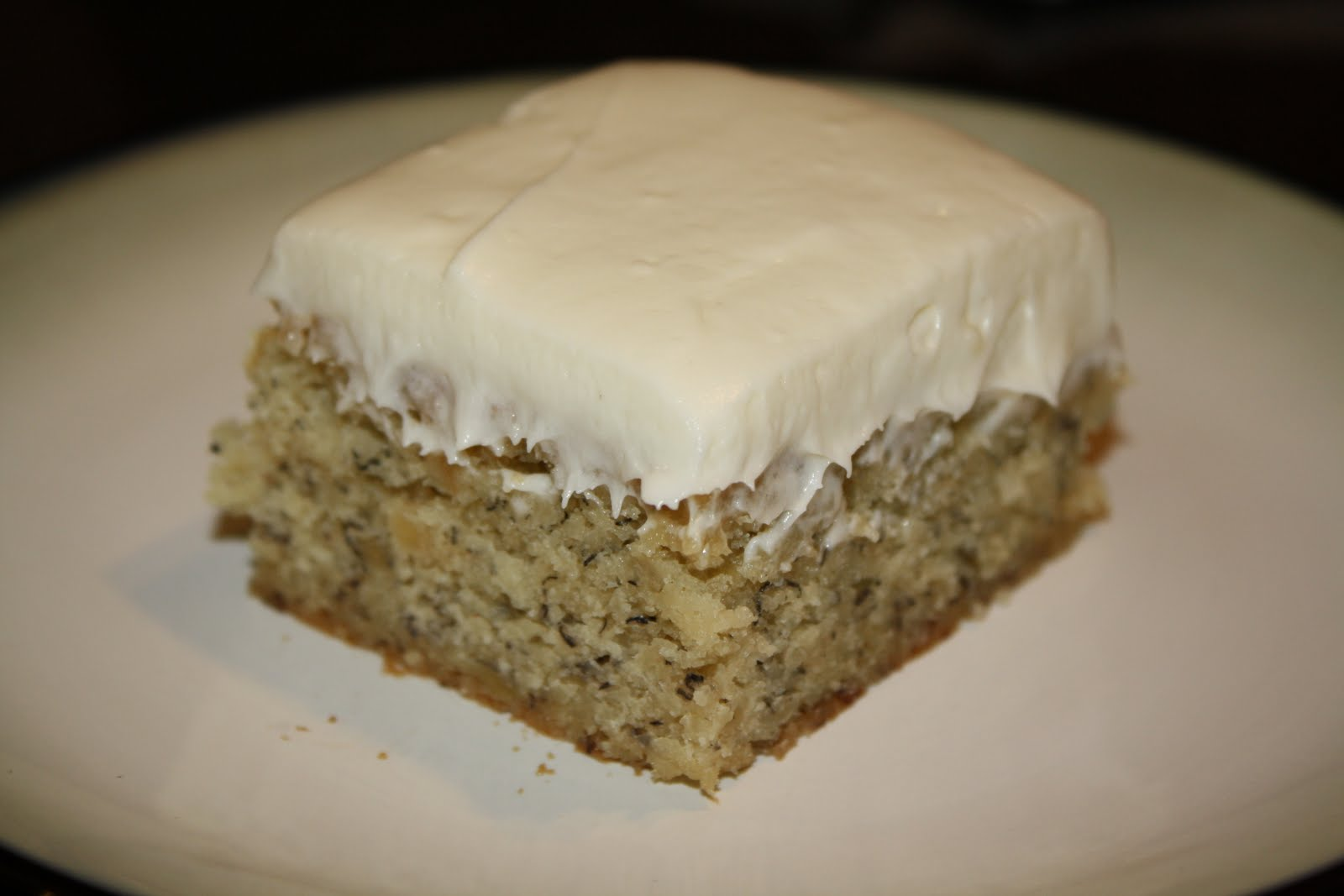 Banana Cake From Scratch