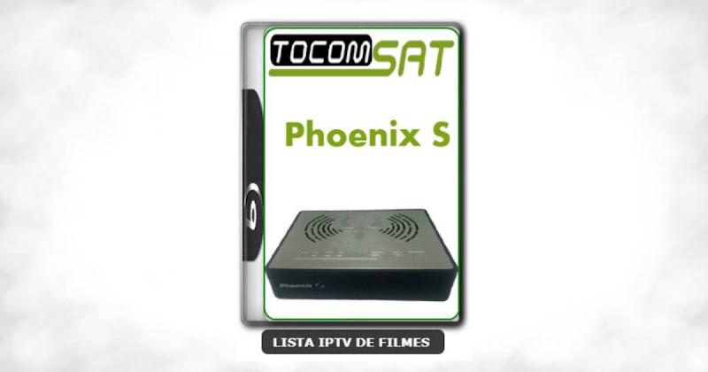 Tocomsat Phoenix S Nova Atualização Satélite SKS KEYS 61w ON V1.32