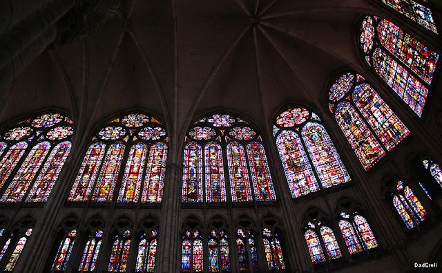 Vitraux du chœur de la Cathédrale de Troyes