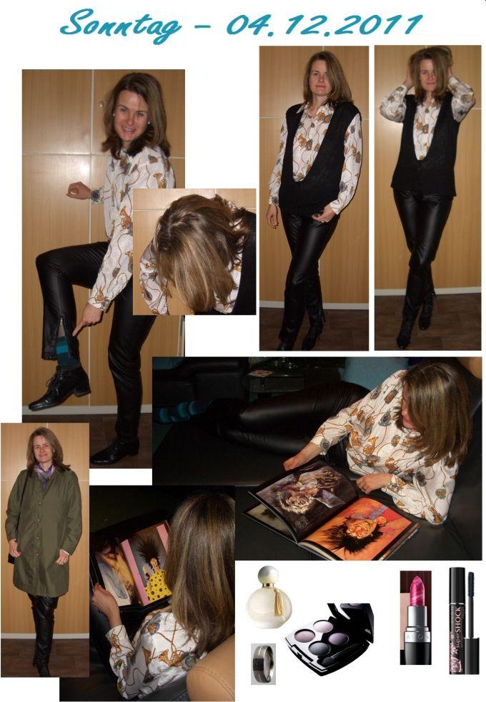 Lederröhre und Pullunder - Modetrend 2011