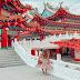 Check in ngôi chùa vạn đèn lồng đỏ tại Kuala Lumpur