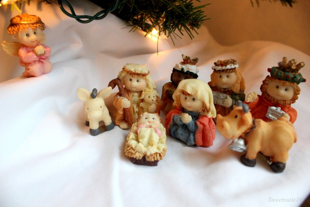 my cute nativity scene