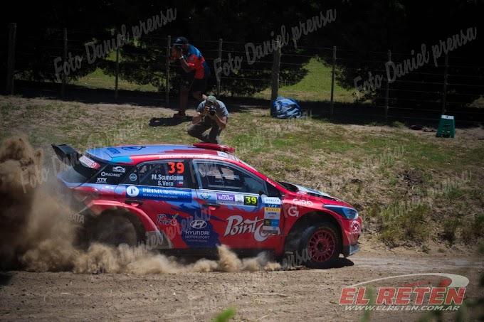 Scuncio, Padilla y Disalvo los protagonistas del Rally de Balcarce