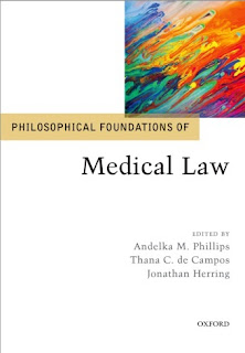 Philosophical Foundations Of Medical Law 2020