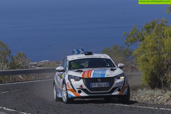 Sergio Fuentes, listo para el Rallye Senderos de La Palma