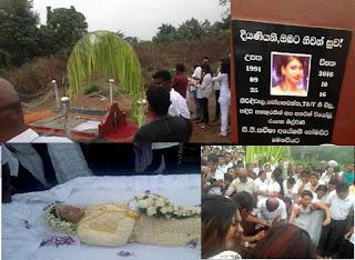 Kaveesha Ayeshani's Funeral