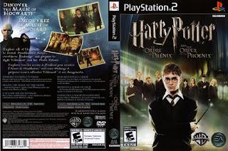 Capa Harry Potter e a Ordem da Fênix PS2