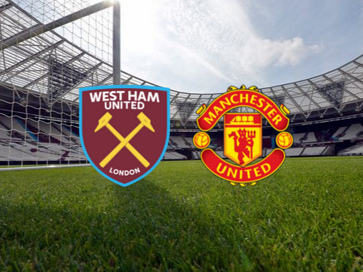 Watch the Manchester United and West Ham United match broadcast live today in the English Premier League