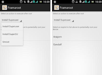 Cara Root Android Menggunakan FramaRoot Apk
