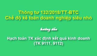 Tài khoản nợ phải trả áp dụng doanh nghiệp siêu nhỏ theo Thông tư 132/2018/TT-BTC