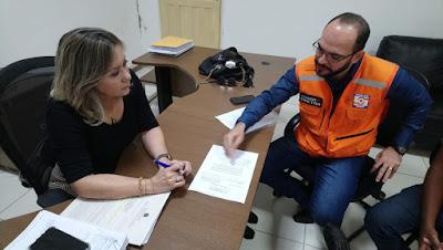 Riachuelo: Cândida Leite e Defesa Civil debatem sobre saques do FGTS para famílias atingidas na enchente