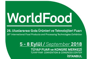 world food istanbul gıda ve teknoloileri fuarı