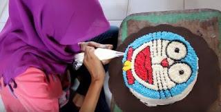 Kue Ulang Tahun Doraemon Untuk Anak Laki-Laki
