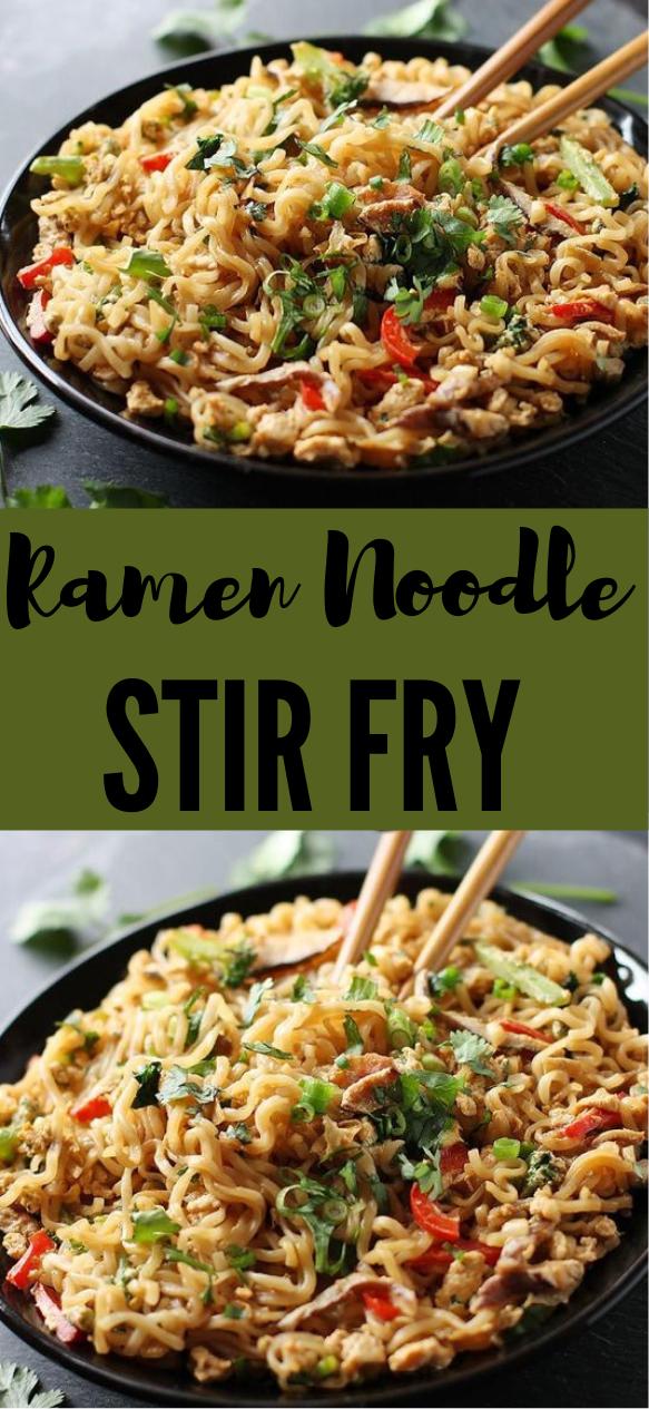 RAMEN NOODLE STIR FRY #ramen #vegetarian