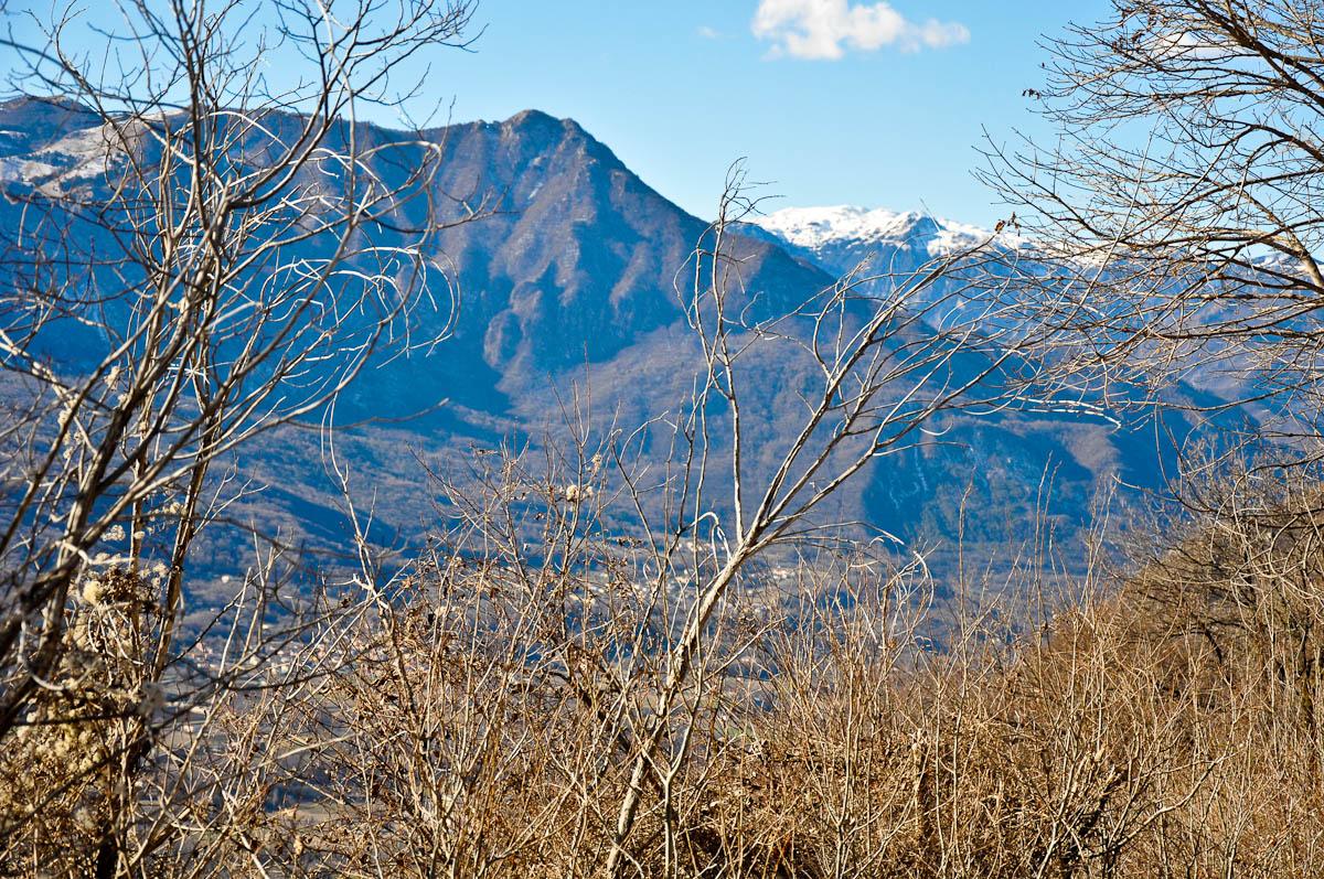 The peaks of the Altopiano di Asiago, Veneto, Italy