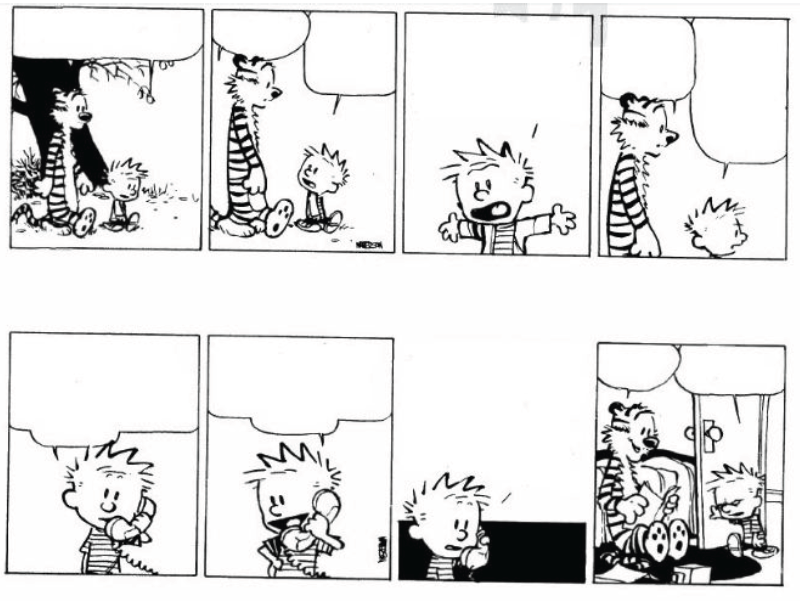 Adopt and Adapt ICT-in-ELT: SPRE it up with Calvin and Hobbes