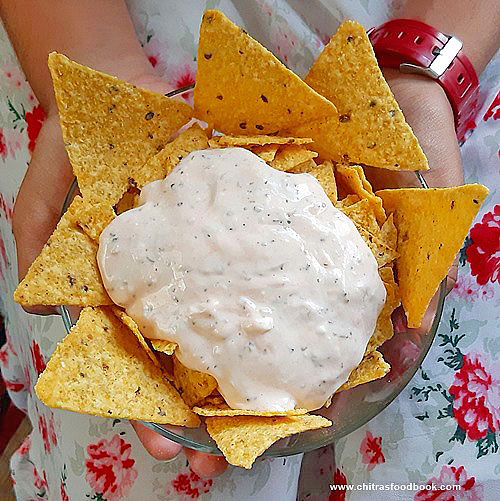 mayonnaise dip for nachos chips