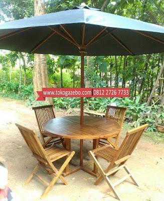 Meja Payung Jati Jepara
