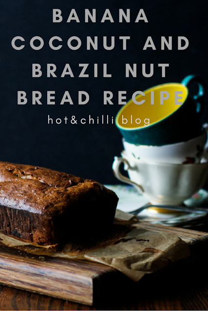 banana, coconut and Brazil nut bread recipe
