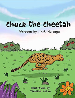 Chuck the Cheetah - a children's picture book by K.A. Mulenga - book promotion sites