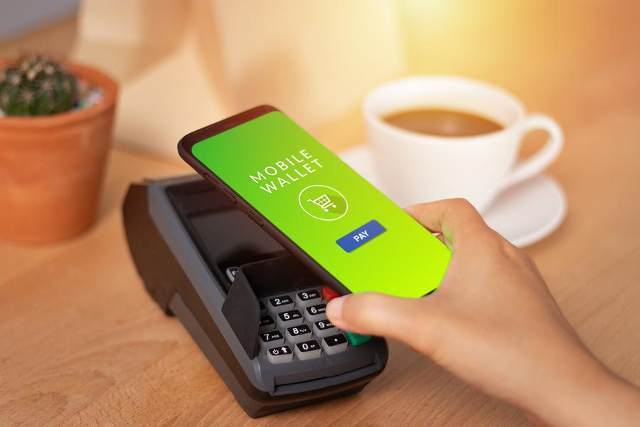 Mobile Wallet payment allows enjoying rewards given on cards