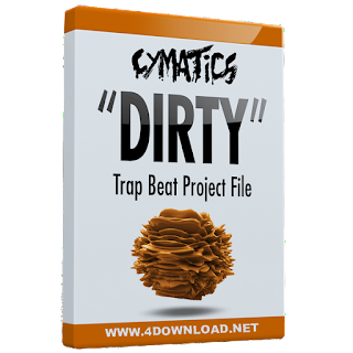 "Cymatics ""Dirty"" Trap Beat Project File ALS LOGIC FLP"