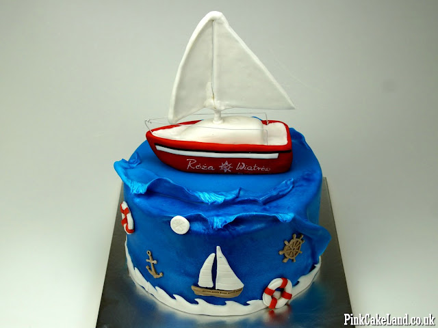 nautical cake london