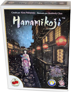 Hanamikoji el juego de cartas