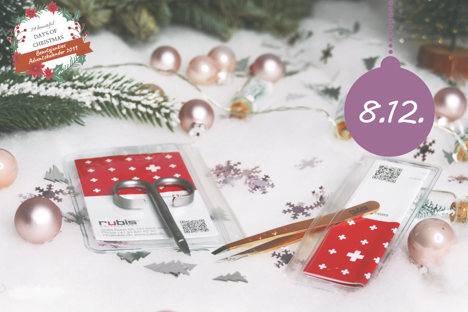Beautyjunkies Adventkalender - Türchen 8 mit Rubis Switzerland