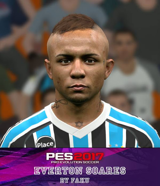 Everton Soares New Face - PES 2017 - PATCH PES | New Patch ...