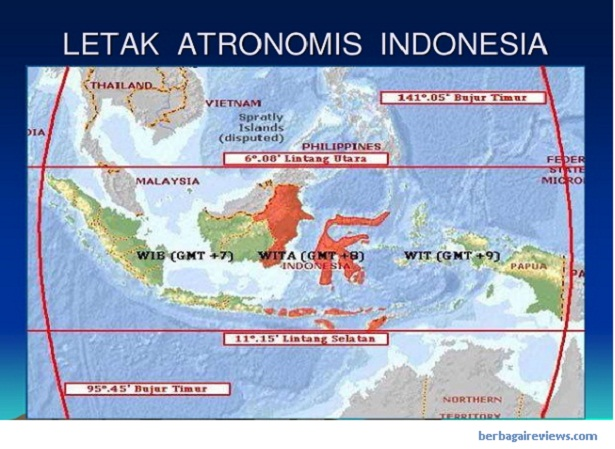Letak astronomis Indonesia - berbagaireviews.com