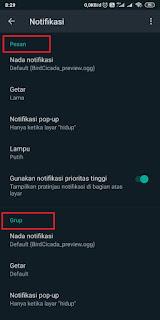 Cara Menghilangkan dan Memunculkan Pop Up Whatsapp