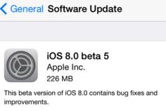 iOS 8 Beta 5 Apple Sudah Di Rilis