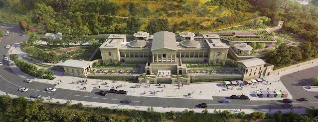 Visualisation of plans for Royal High School, Edinburgh (courtesy of Royal High School Preservation Trust)