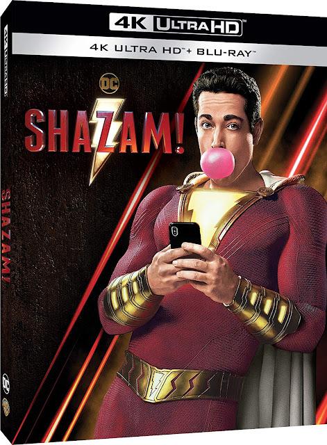 Shazam! Home Video