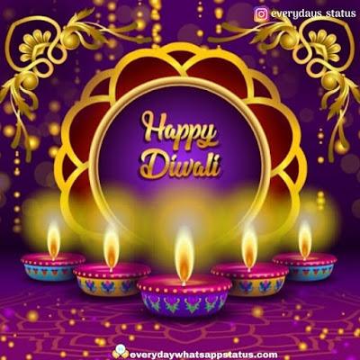 happy diwali wishes | Everyday Whatsapp Status | Unique 120+ Happy Diwali Wishing Images Photos