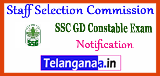 Staff Selection Commission GD Constable Male Female Eligibility 2017 Notification