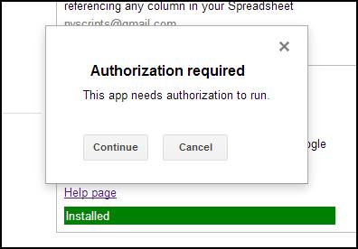 Authorize!