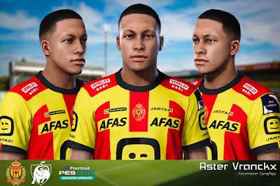 PES 2021 Faces Aster Vranckx by CongNgo