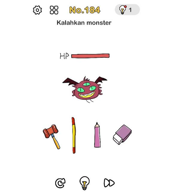 Kalahkan monster