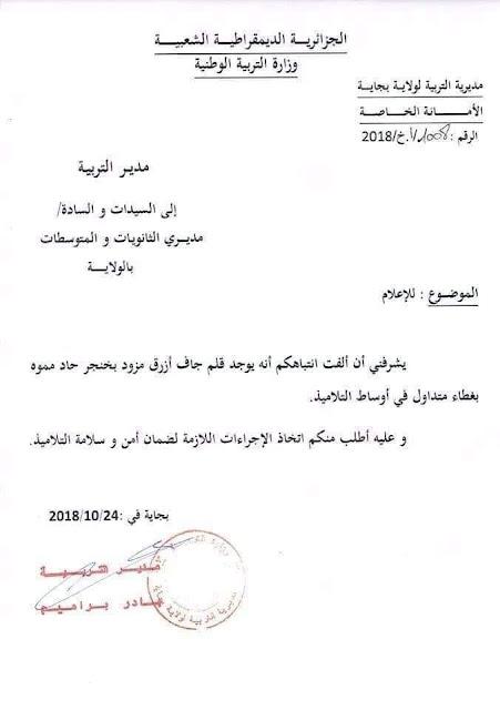 أدوات مدرسية خطيرة في الأسواق الجزائرية