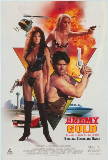 [18+] Enemy Gold (1993) UNRATED BluRay Dual Audio [Hindi & English] 720p & 480p x264 HD | Full Movie