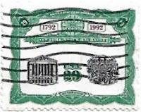 Selo Bicentenário da Bolsa de Nova York