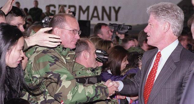 #Bill_Clinton #Bill #Clinton #Serbia #Kosovo #Metohia #Province #Bombing #War #Crime #Terrorist #Hashim #Thachi