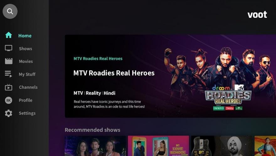 Voot Preview Desktop App