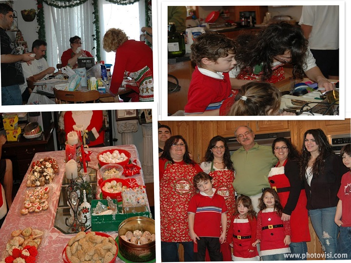 This is my family in New York on Cookie Bake Day for Christmas We do ours in Florida and they do theirs. We try and skype or facetime while baking to enjoy each year together baking on bake day.
