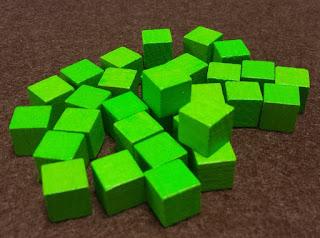 ジョーの動物園 緑の立方体