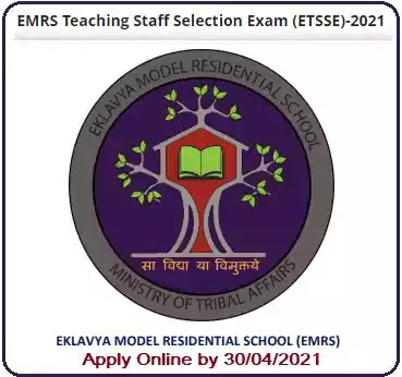 Eklavya Schools Teaching Staff Recruitment Exam 2021
